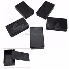 5Pcs 100x60x25mm Electronic Project Plastic Box Enclosure Instrument Case DIY -R179 Drop Shipping