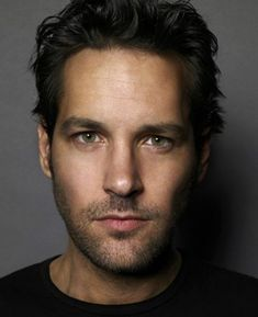 Paul Rudd..that slight smirk, dark features, sense of humor..I'm a fan.