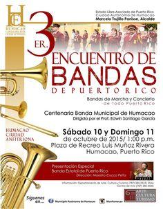 Encuentro de Bandas de Puerto Rico 2015 #sondeaquipr #encuentrodebandaspr #humacao #bandamunicipalhumacao