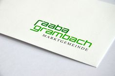 Neues Logo der Marktgemeinde Raaba-Grambach Corporate Design, Editorial Design, Web Design, Simple Logos, Editorial Layout, Design Web, Branding Design, Brand Design, Site Design