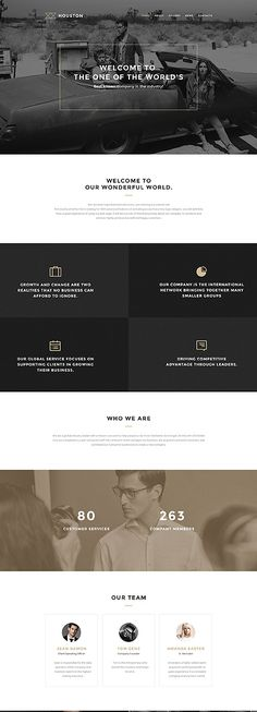 Business Services WP Template wordpress website template