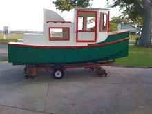 Playing Harmonica Minimalist Budgeting And Boating - Bolger micro trawler boats