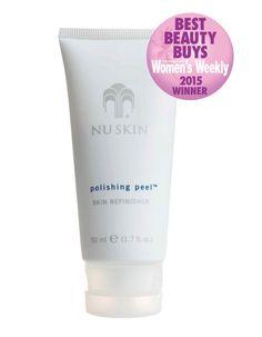 Best Beauty Buys 2015: Best Face Scrub – Nu Skin Polishing Peel