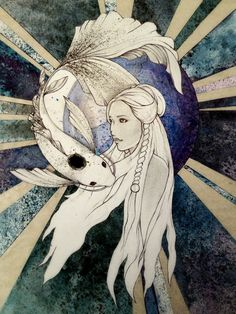 Moon Spirit by ~LaGelian on deviantART----princess yue avatar the last air bender