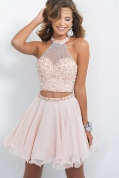 Two Pieces Homcoming Dresses, Bodic. Two Pieces Homcoming Dresses, bodice pearl Zipper Fleabane Chiffon Homcoming Dresses, For Teens Short Prom Dresses, Mini Dresses 2 Piece Homecoming Dresses, Hoco Dresses, Prom Gowns, Pretty Dresses, Evening Gowns, Dress Prom, Mini Dresses, Party Dress, Dresses 2016