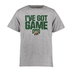 Ohio Bobcats Youth Got Game T-Shirt - Heather Gray - $17.99