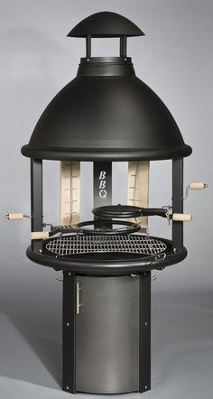 Kotakeittiö-Kotakeittiö BBQ, korkea malli, musta