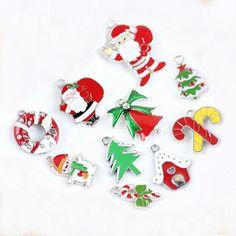 Christmas Pendant / 10 PCS/ necklace bracelet/  от LotusSupplies