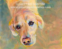 """Maggie A"" - Original Fine Art for Sale - © Kimberly Santini"