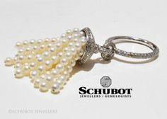 Pearl tassle ring