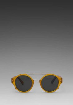 6adf9d1cfd3 Spitfire Flick in Faded Yellow. Yes to steam punk style glasses