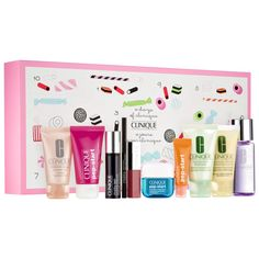 Clinique Holiday Helper 2016 or Clinique Advent Calendar 2016 - see over 50 beauty advent calendars 2016 at IcanGWP beauty blog - your gift with purchase and beauty limited edition kits destinaiton!