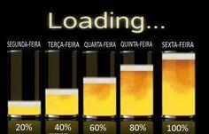 Só na sexta-feira que eu bebo muita cerveja | Este e outros 20 memes de cerveja só no Brejas Beer Brewing, Home Brewing, Lets Get Drunk, Beer Club, Irish Decor, Drinking Quotes, Beer Tasting, Beer Festival, Drinking Glass