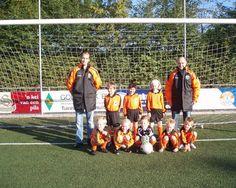 Dit was mijn eerste voetbalteam bij NWC Asten