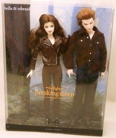 2012 TWILIGHT Breaking Dawn Part 2 EDWARD & BELLA Exclusive Barbie Giftset