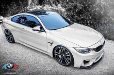 Stunning White BMW 4 Series Coupe : Yes please