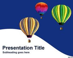 Pug powerpoint template is a dog powerpoint template that you can hot air balloons powerpoint template toneelgroepblik Gallery