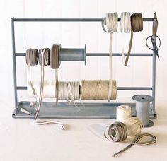 Great way to organize your stringy things...