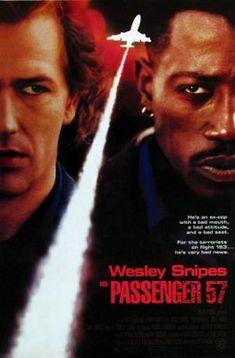 Passenger 57 (1992) movie #poster, #tshirt, #mousepad, #movieposters2