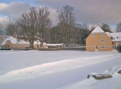 Klintholm gods nær Møns Klint.
