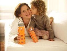 Botella de vidrio para niños y adultos