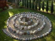 Landscape Design Garden Circle project Idea |