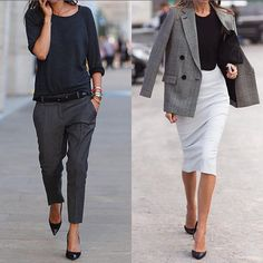 "1,365 To se mi líbí, 12 komentářů – Speak__fashion (@speak__fashion) na Instagramu: ""1 or 2? @be__classy__ 😍#pants #skirt #fashion"""