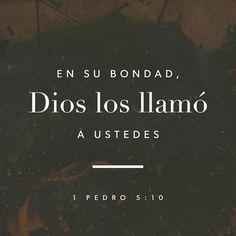 Mas el Dios de toda gracia, que nos llamó a su gloria eterna en Jesucristo, después que hayáis padecido un poco de tiempo, él mismo os perfeccione, afirme, fortalezca y establezca. 1 Pedro 5:10