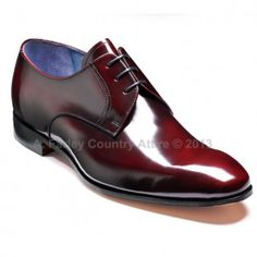 Barker Shoes - Rutherford Burgundy Cobbler - Derby Style | New 2013