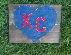 Check out this item in my Etsy shop https://www.etsy.com/listing/464944287/kansas-city-string-art