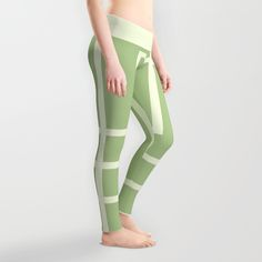 Square - green Leggings by MJ Mor | Society6 #leggings #trousers #pants #sport #chandal #pantalon #deporte #deportivo #clothing #wearing #wear #ropa #moda #fashion #girly #chica #femenino #girl #woman #mujer #regalo #gift #verde #green #lineas #lines #abstract #abstracto #mayas #art