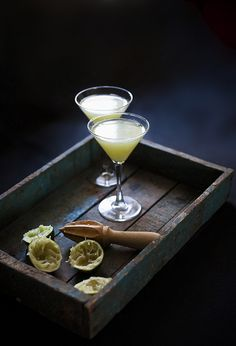 A Walk in the Weeds: gin, celery juice, lime juice, agave syrup