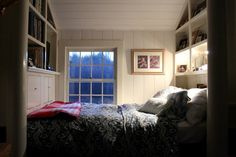 Look! Farmhouse Built-In Bed Nook
