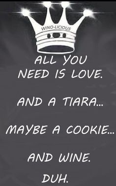 One of my besties convinced me many years ago that it is impossible to have a bad time when you are wearing a tiara.