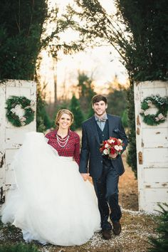 Christmas Tree Farm Inspiration Shoot - Designed by The Bride Link + Custom Love Gifts - JoPhoto - Florals by LB Floral