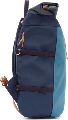 Nanamica Navy Cycling Backpack