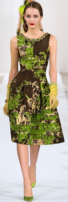 Oscar de la Renta Fall Winter 2013