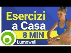 Esercizi Veloci di Fitness a Casa per Dimagrire - YouTube