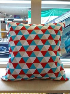 Sarung Bantal Sofa Pyramid Tosca Cushions, Sofa, Throw Pillows, Cover, Settee, Cushion, Decorative Pillows, Pillows, Decor Pillows