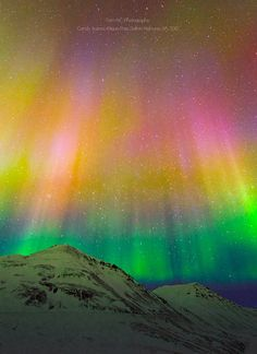 ~~Candy Aurora Borealis | Brooks Range, Dalton Highway, Antigun Pass, Alaska by TomNC~~