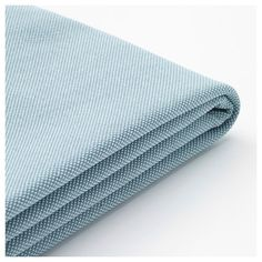 IKEA - HOLMSUND, Cover for corner sofa-bed, Orrsta light blue, Durable, cotton and polyester cover with texture and a soft feel. Sofa Bed Frame, Ikea Sofa Bed, Bed Storage, Storage Spaces, Convertible, Pink Comforter, Bedding Sets, Lights, Bedding