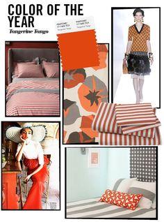 breaking news. tangerine tango. Love love love me some orange