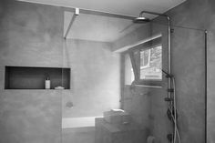 Minimalist bathroom shower by Nordiczen