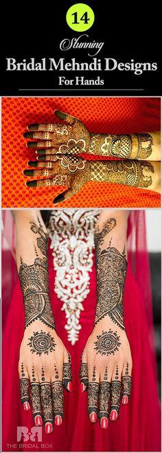 14 Stunning Bridal Mehndi Designs For Hands