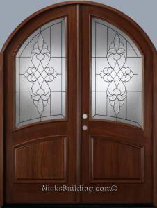 Round Top Door On Pinterest Wood Doors Entrance And Double Doors