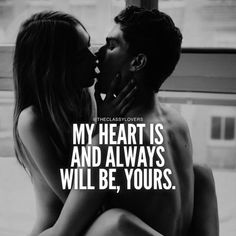 And I would love to say that to him but I just can't and it sucks but I can on here u_u and in prayers too . Ryan my heart will always be for you. I miss you and I wholeheartedly & forever until eternities end LOVE YOU! Couple Quotes, Quotes For Him, Be Yourself Quotes, Husband Quotes, Sex Quotes, Life Quotes, Quotes Quotes, Love You, Just For You