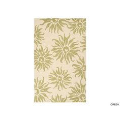 Hand-Hooked Salma Transitional Floral Indoor/ Outdoor Area Rug (5' x 7'6) | Overstock.com Shopping - Great Deals on 5x8 - 6x9 Rugs