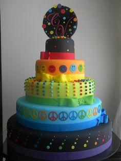 bolo 15 anos Carol by A de Açúcar Bolos Artísticos, via Flickr