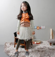 Korean Children's Fashion: The Jany x SO CUTE.  I think BOTH of my daughters would actually adore this! <3