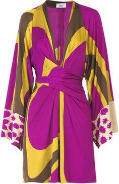 Issa Mini kimono dress